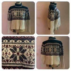 Kathy Ireland 90's Short Length Sweater